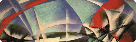 Illustrazione tratta da opera di Giacomo Balla