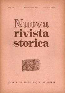 Anno LV - Fascicolo III-IV - Maggio-Agosto 1971