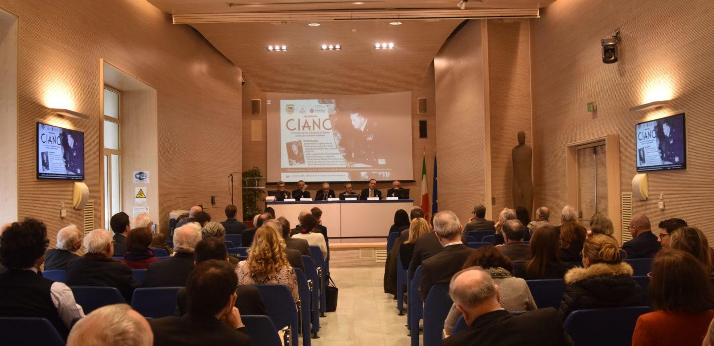 Presentazione del volume: Ciano